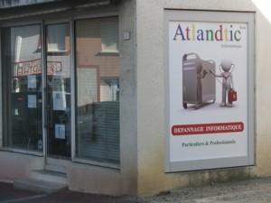 Agence informatique ATLANDTIC sur Hagetmau (Landes 40)